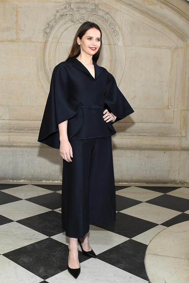 Dior S/S couture 2019: Felicity Jones