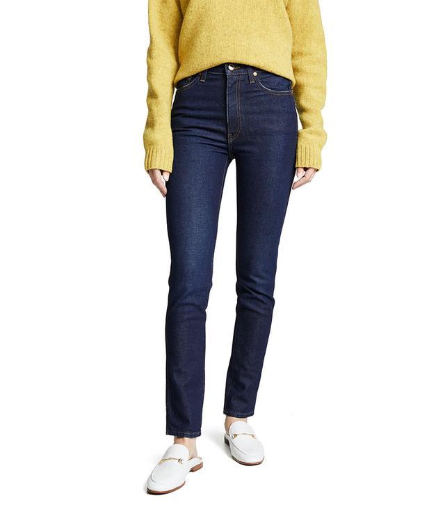 Khaite Vanessa High-Rise Jeans