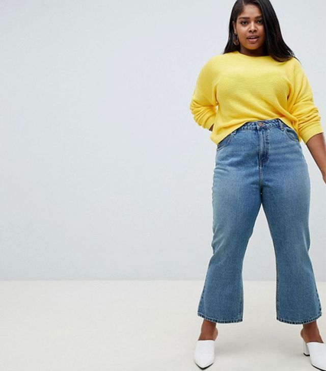 ASOS Recycled Egerton Cropped Jeans