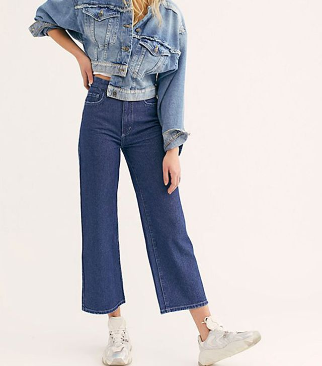 Lee High-Rise Wide-Leg Jeans