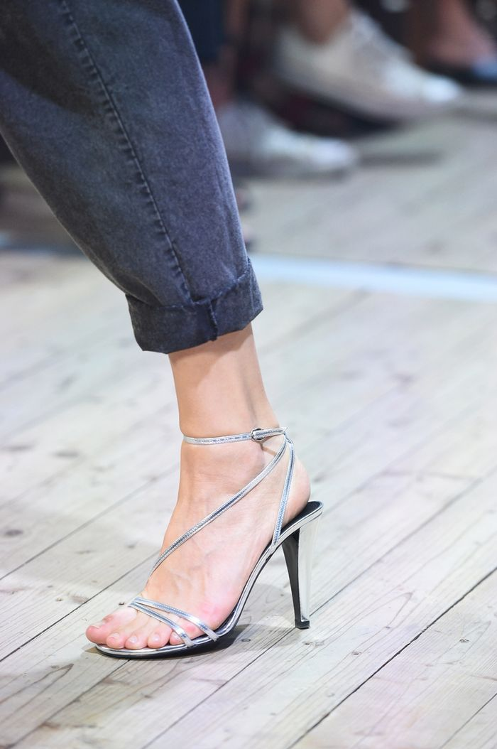 7745de2ea4 Floss Heels Are the Naked Shoe of 2019 | Who What Wear