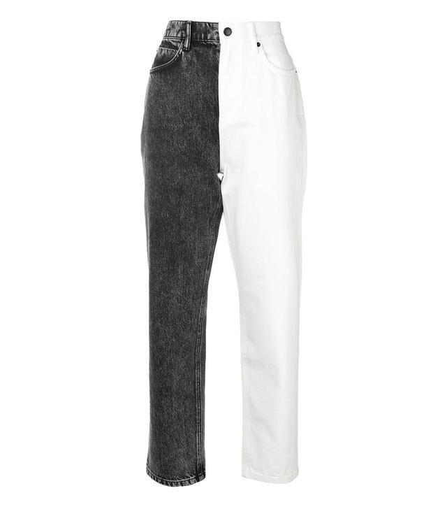 Alexander Wang Two-Tone Jeans