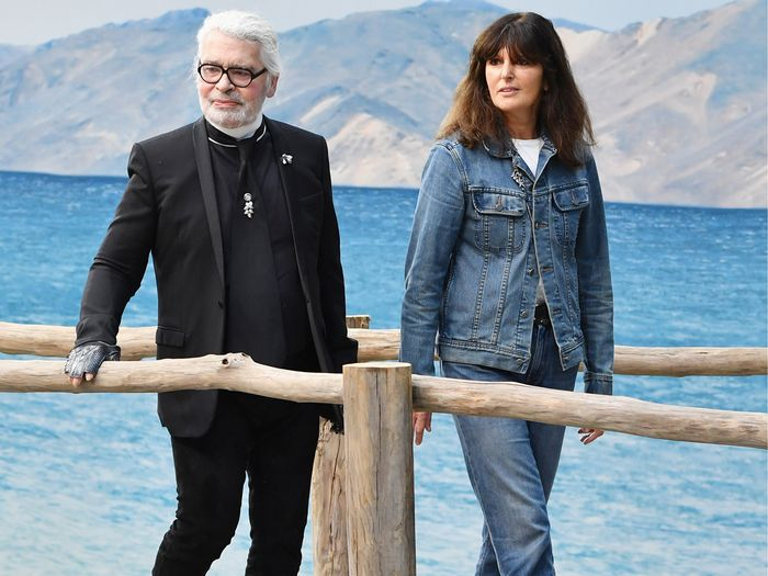 7aa34564aec4 Chanel Fashion Director Virginie Viard's Style | Who What Wear
