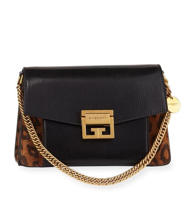 Givenchy GV3 Small Leopard Shoulder Bag