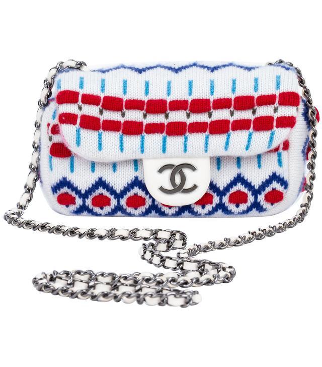 Chanel Mini White Aspen Crossbody Bag