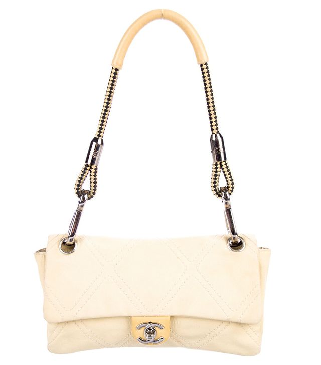 Chanel Diamond Quilt Flap Bag