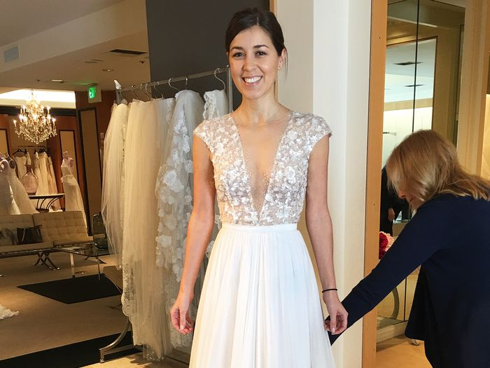 359ca9217dae Wedding Dress Shopping Tips | Who What Wear