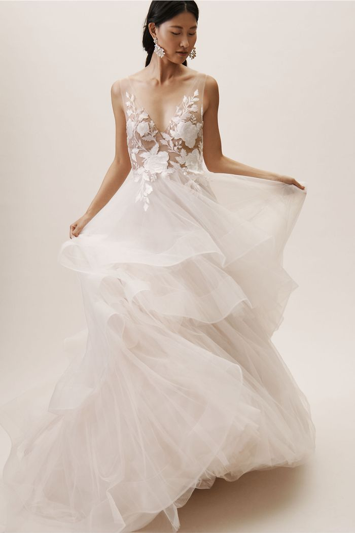 7020f4e1a579ab Wedding Dress Shopping Tips | Who What Wear