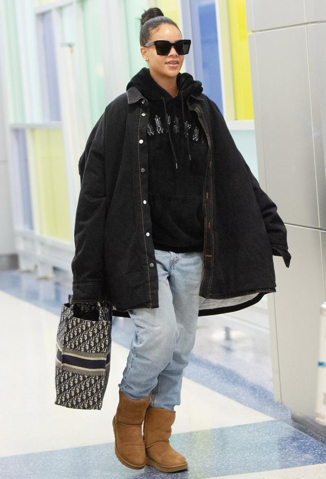Rihanna in Ugg Boots