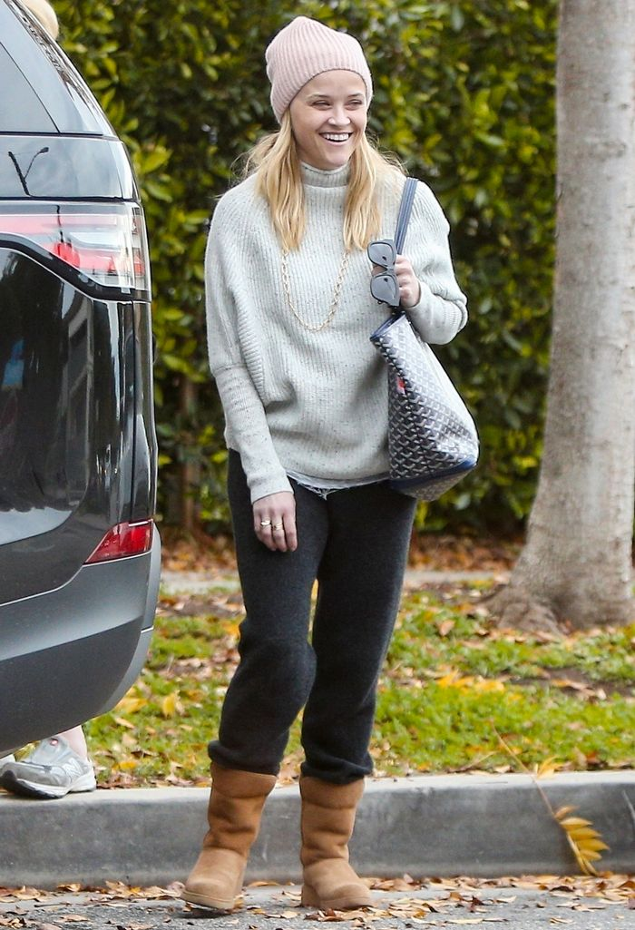 cdde74a0cb0 7 Ways Celebrities Are Wearing Ugg Boots in 2019 | Who What Wear