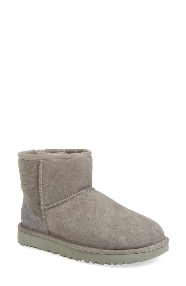 Ugg Classic Mini II Genuine Shearling Lined Boots