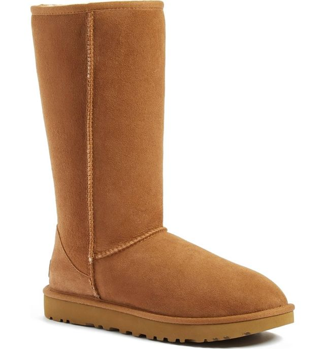 Ugg Classic II Genuine Shearling Lined Tall Boots
