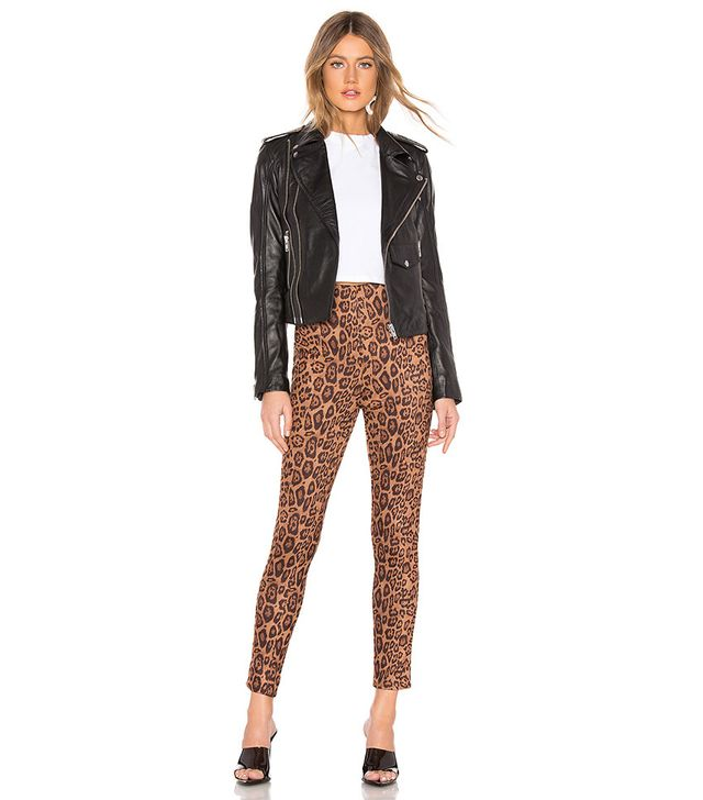 By the Way Crystal Leopard Pants