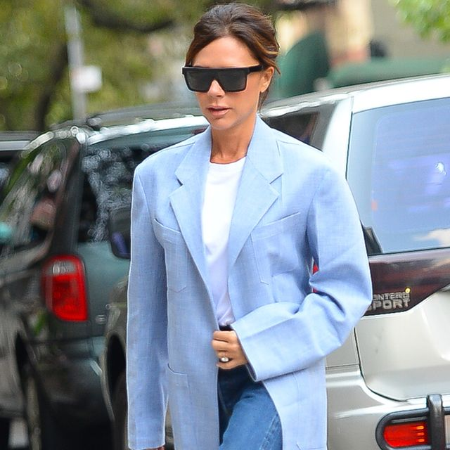 Victoria Beckham Shows How You Can Still Wear Your Dresses When It's Baltic