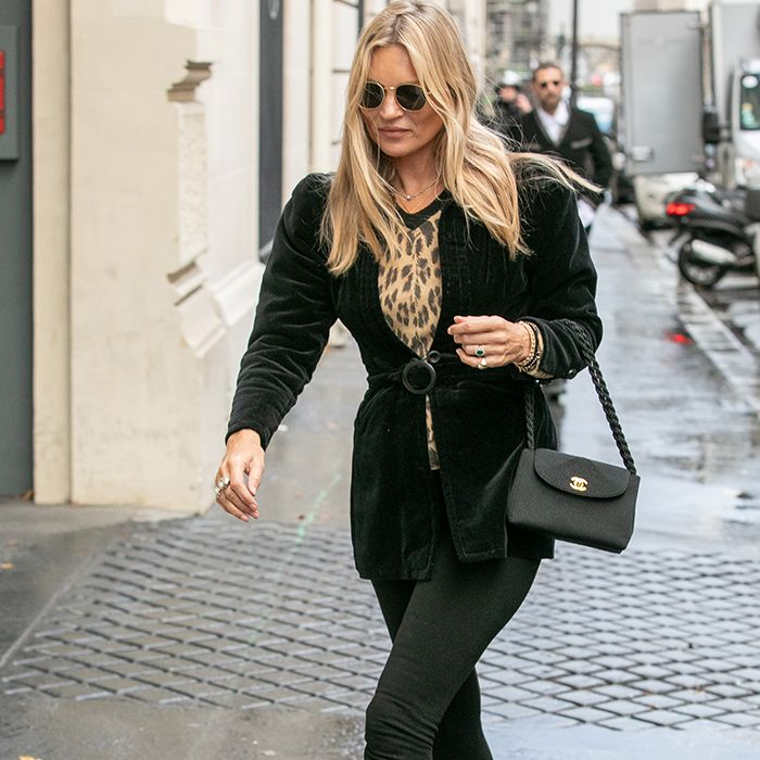 d20dbb248490 Kate Moss Is Always Wearing Black Outfits—See Them All Here