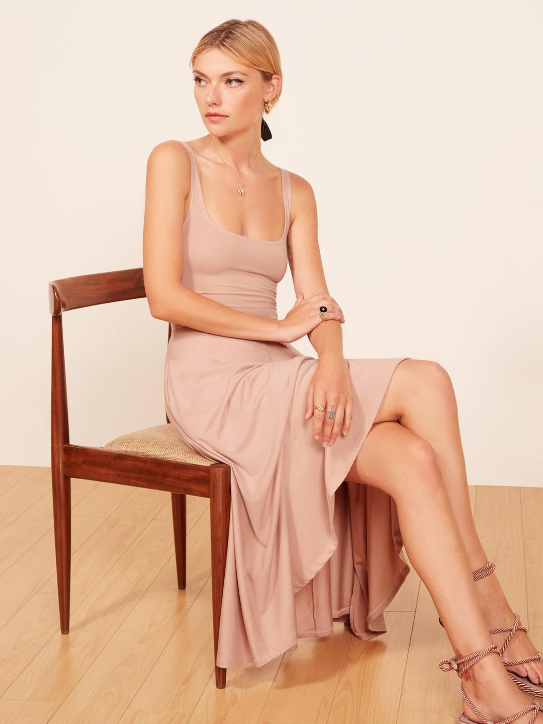 d1586113d7 Reformation's Best-Selling $98 Dress Is Back | WhoWhatWear.com | Bloglovin'