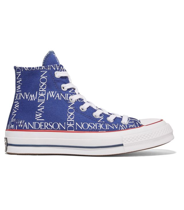 Converse x J.W.Anderson Chuck Taylor All Star Printed Canvas High-Top Sneakers