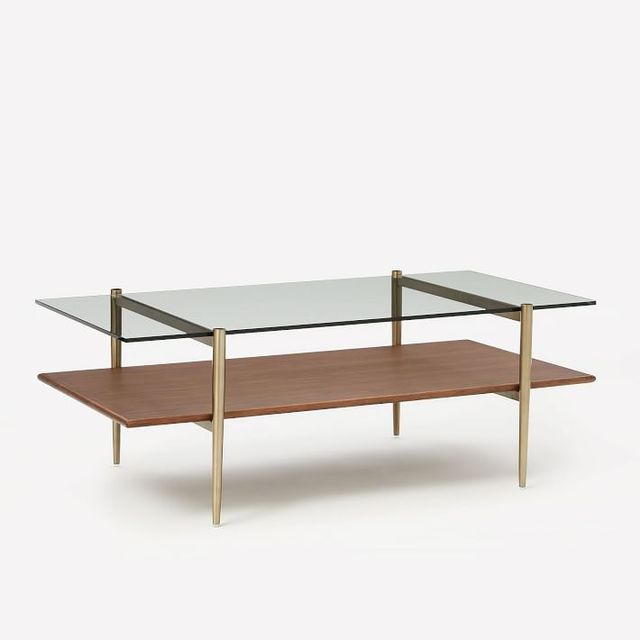 West Elm Art Display Coffee Table
