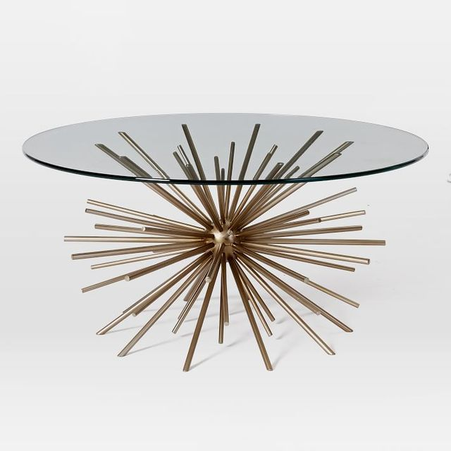 West Elm Starburst Coffee Table