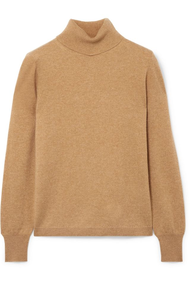 J.Crew Layla Cashmere Turtleneck Sweater