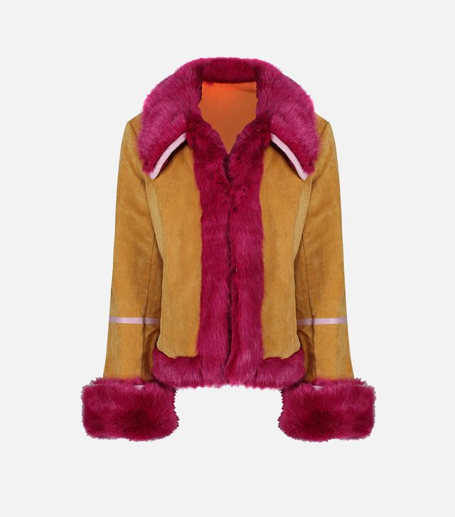 La Llama Short Collar Coat
