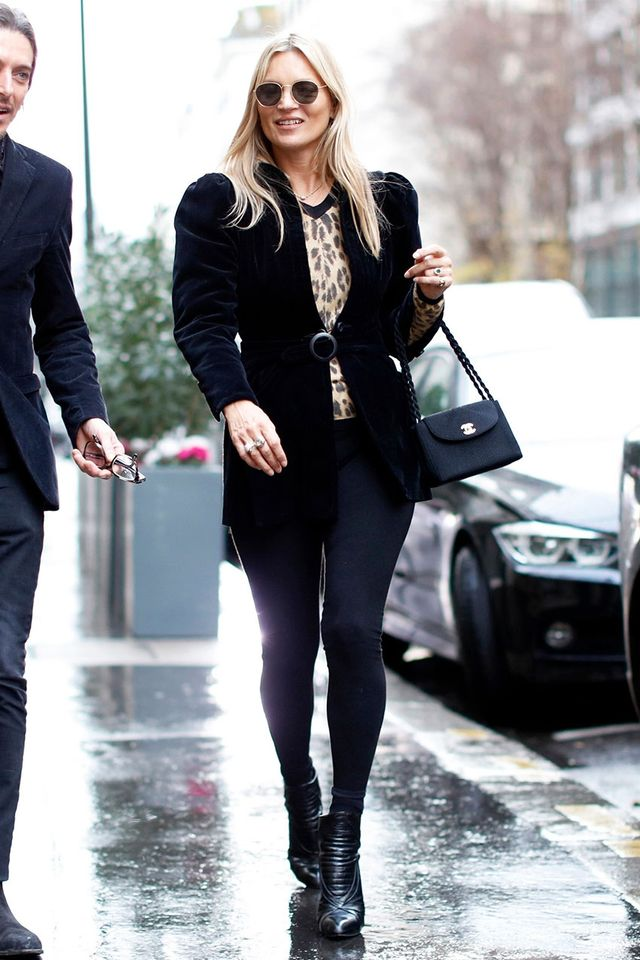 Celebrity Legging Styling Mistakes: Kate Moss