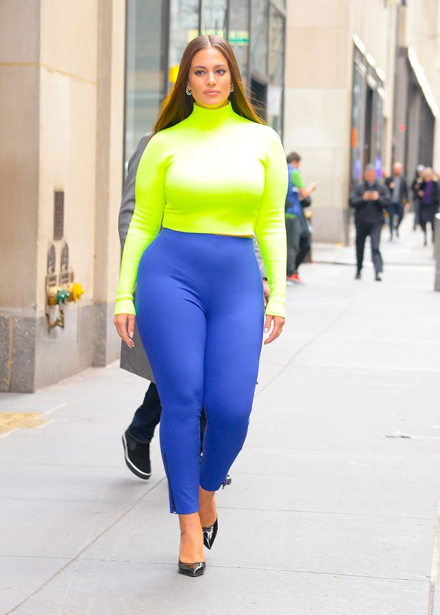 Celebrity Legging Styling Mistakes: Ashley Graham
