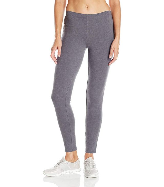 Hanes Stretch-Jersey Leggings