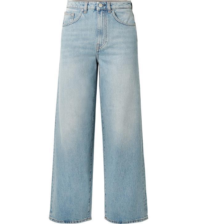 Tôteme Flair High-Rise Wide-Leg Jeans