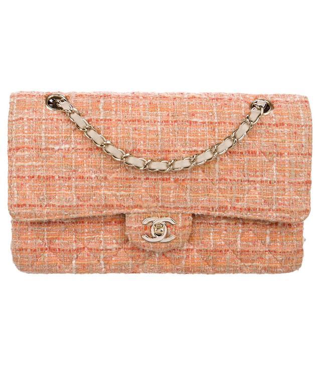 Chanel Classic Tweed Medium Double Flap Bag