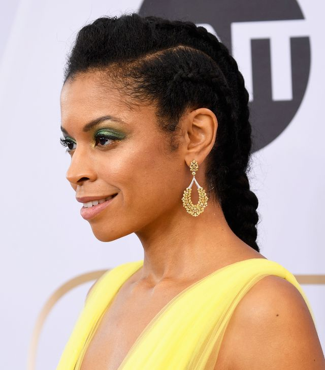 <p>We may have lost our breath when we saw Susan Kelechi Watson's silhouette draped in bright yellow on the red carpet, but we may have actually fainted when we saw her green- and...