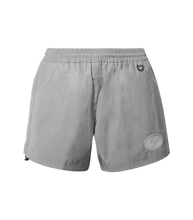 We11done Appliquéd Reflective Shell Shorts