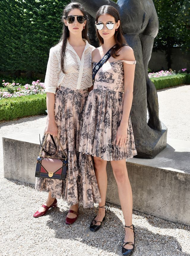 Vera and Viola Arrivabene Outfits