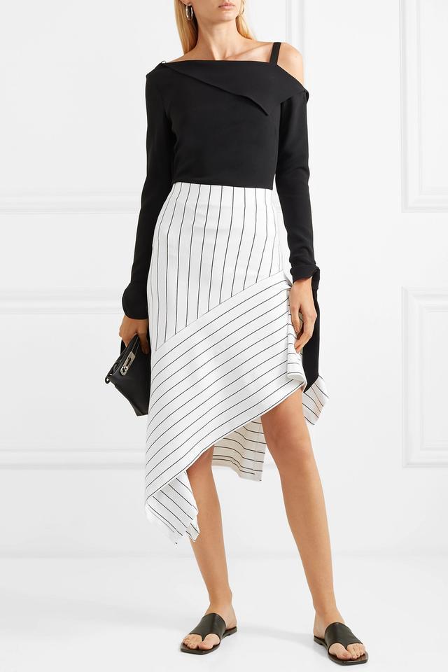 Rosetta Getty Asymmetric Skirt