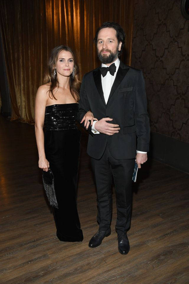 Keri Russell and Matthew Rhys attend the 25th Annual Screen ActorsGuild Awards