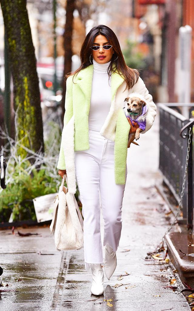 Neon clothing trend: Priyanka Chopra