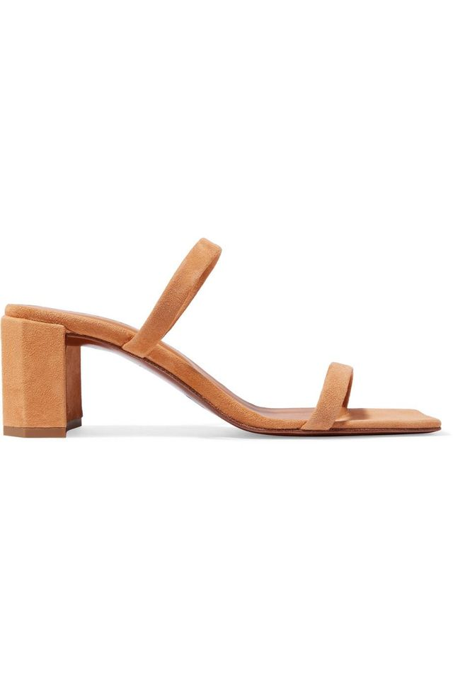 By Far Tanya Suede Sandals