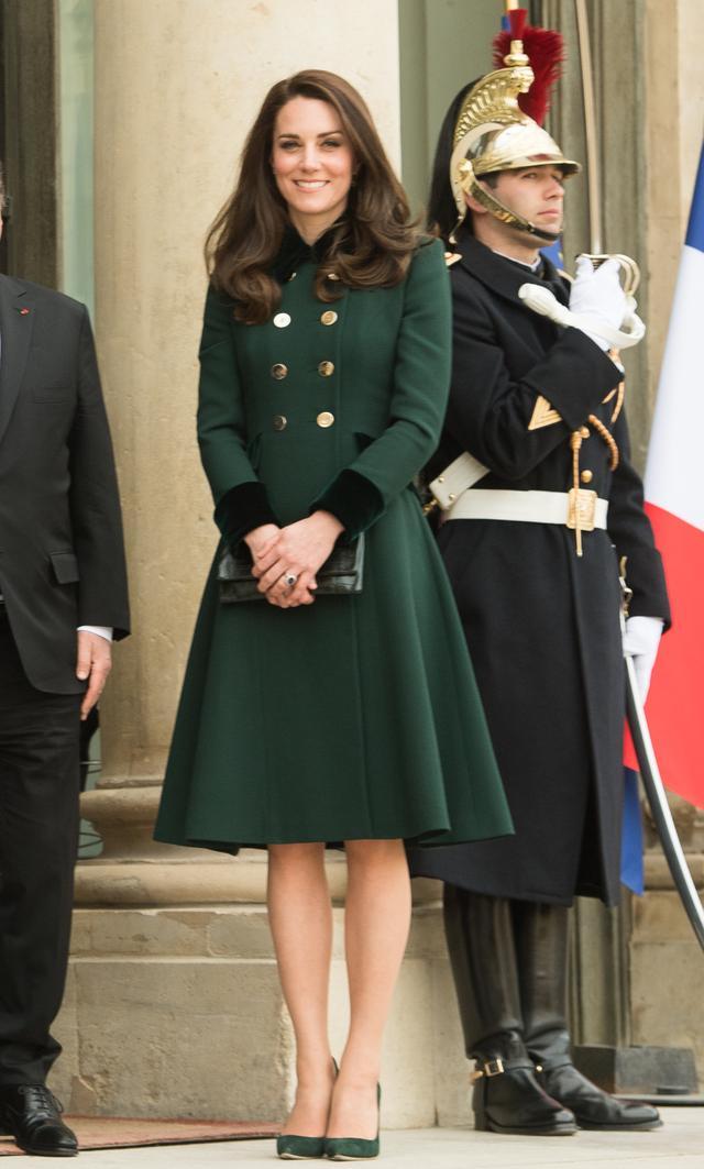 Kate Middleton Paris Coats