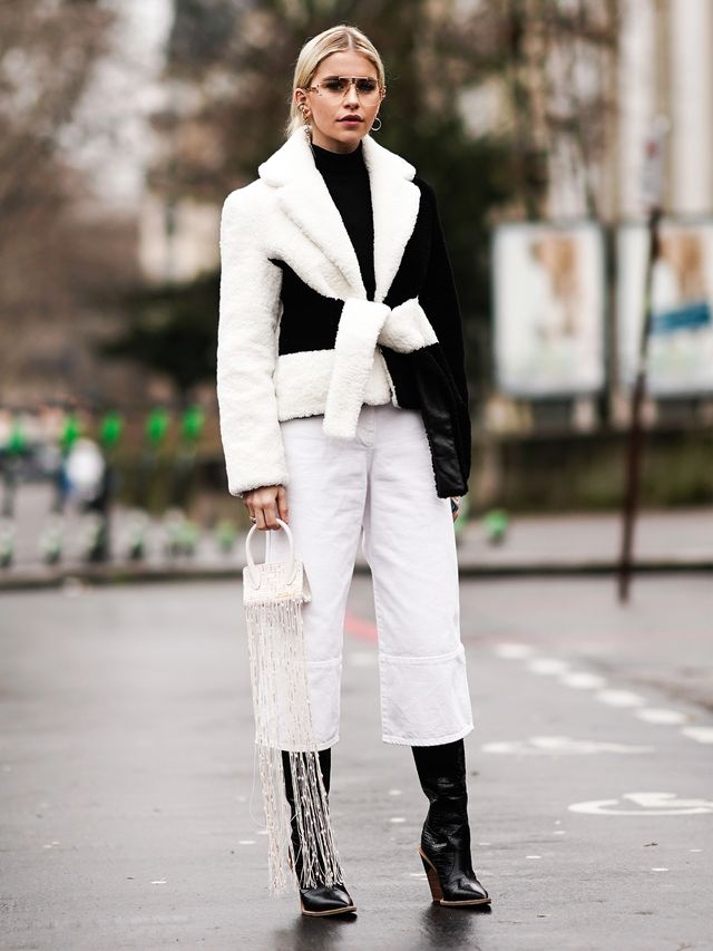 Black-and-White Fashion Trend: Jacket