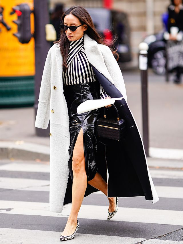 Black-and-White Fashion Trend: Outfit