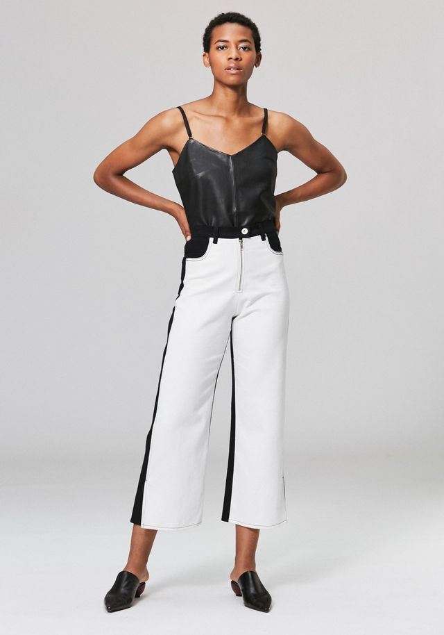 Veda Eclipse Jeans in Black and White