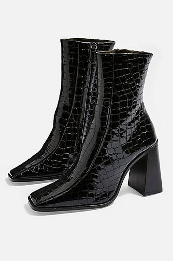 Topshop Hurricane Croc Boots