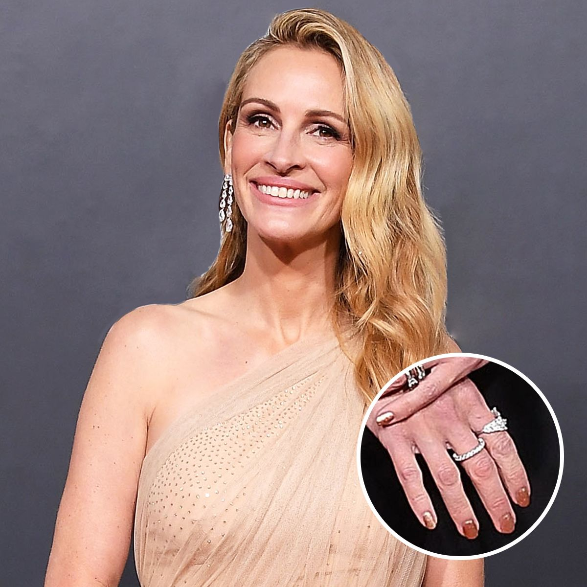 Julia Roberts's Crystal-Healing Manicurist Did My Nails—Here's What Happened