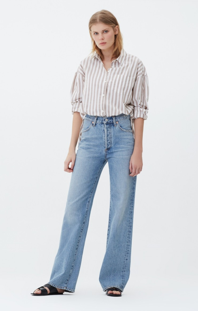 Citizens of Humanity Annina High Rise Wide Leg Jeans
