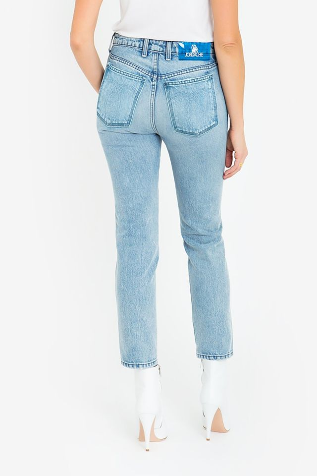 Jordache Mid Blue Vintage Straight Jeans