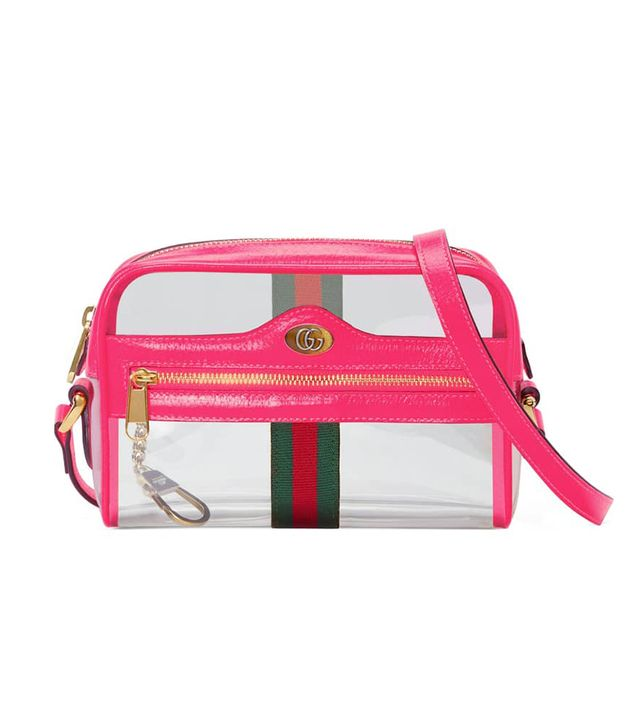 Gucci Mini Ophidia Transparent Convertible Bag