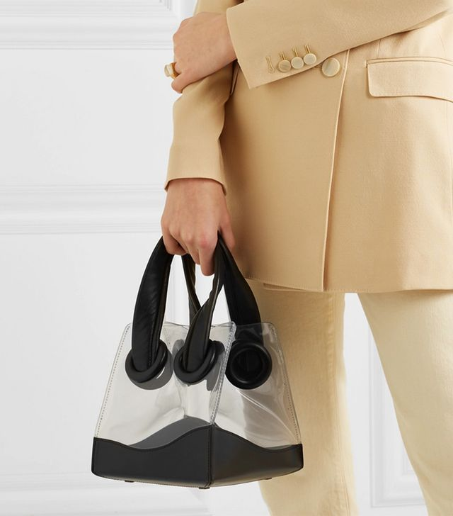 Boyy Deon PVC and Leather Tote