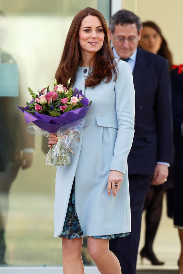 Kate Middleton blue outfit