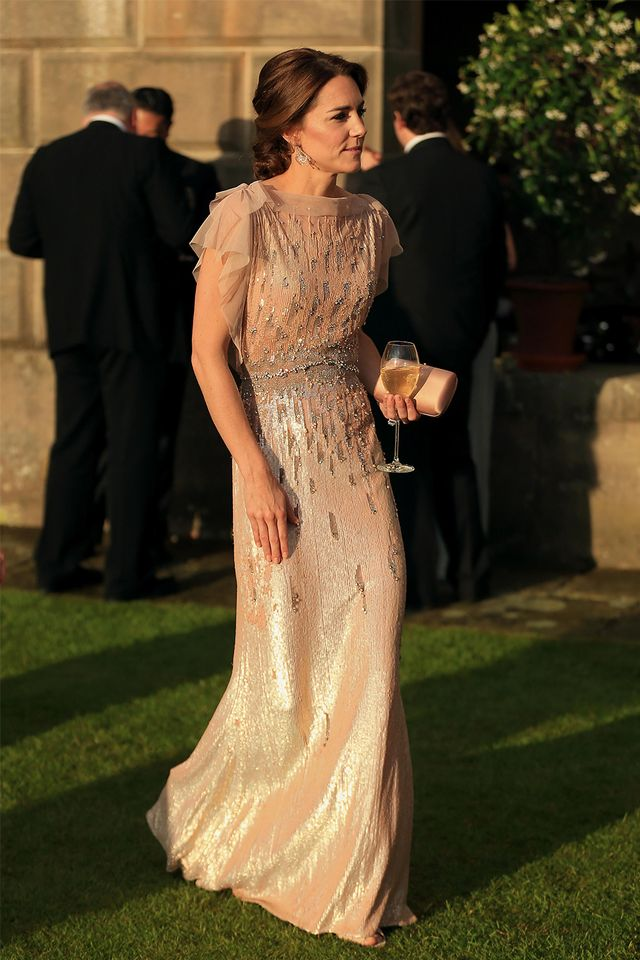 Kate Middleton sleeveless dress