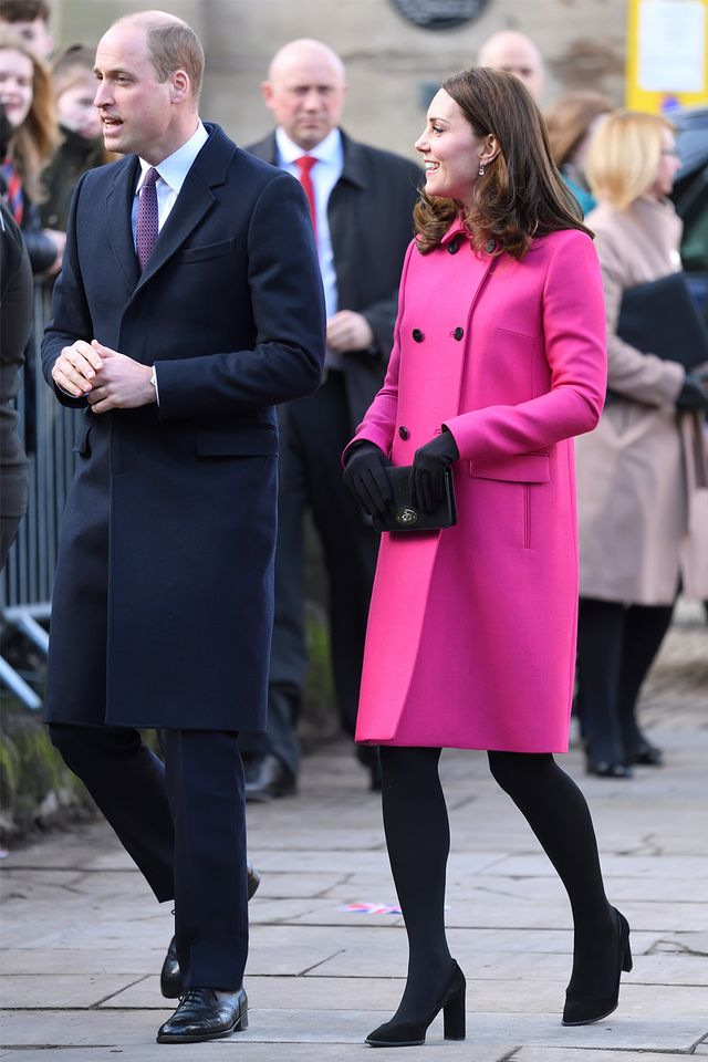 Kate Middleton pink outfit